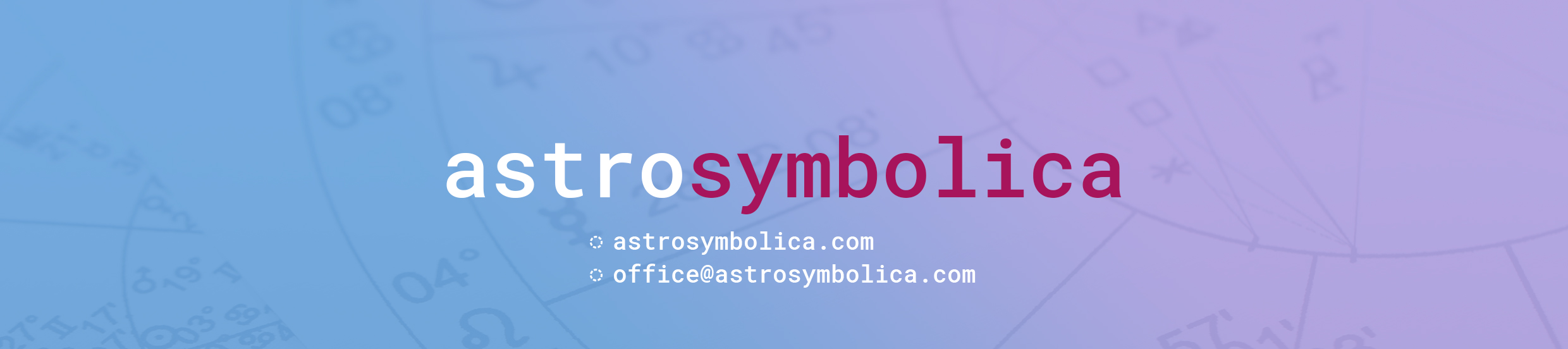 Astrology online course - Learn with Astrosymbolica